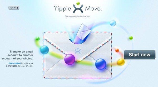 Como mover ou transferir contas de email de um provedor para